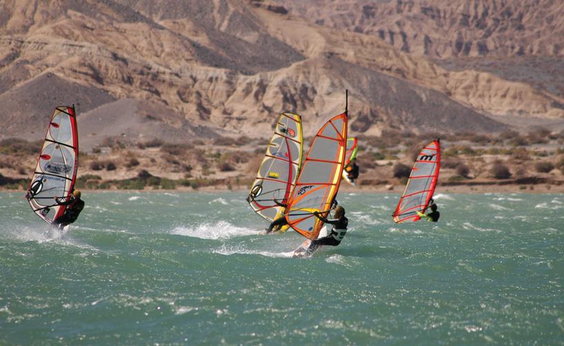 Windsurf en Cuesta del Viento - San Juan